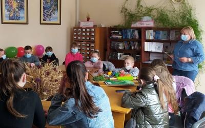 У ТИСМЕНИЧАНСЬКІЙ БІБЛІОТЕЦІ ВІДБУЛОСЯ СВЯТО ДЛЯ ДІТЕЙ